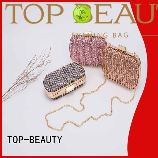 TOP-BEAUTY Arts & Crafts Brand best design shiny sequins bags wholesale
