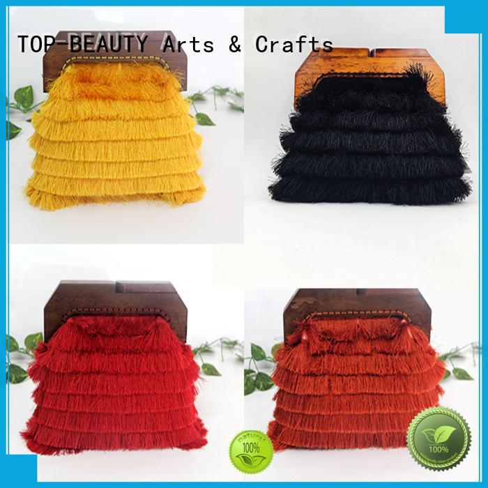 TOP-BEAUTY Arts & Crafts popular frame clutch manufacturer for women